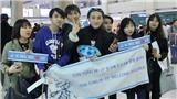 Fan Hàn Quốc ngủ lại sân bay chờ đón Sơn Tùng M-TP