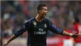 Cột mốc 100 bàn ở cúp Châu Âu đã cho thấy Cristiano Ronaldo thật sự vĩ đại