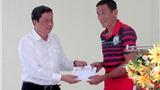 XSKT Cần Thơ nhận 'doping' tiền thưởng trước trận gặp SHB Đà Nẵng