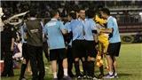 Công Phượng, trọng tài và thẻ đỏ, HAGL thua ngược FLC Thanh Hóa