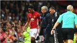 Vì sao Mourinho cảnh báo Martial gay gắt?