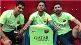 Neymar chọc tức Real khi tái hiện màn ăn mừng 'phơi áo' của Messi