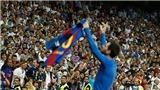 Tại sao Leo Messi ăn mừng kiểu 'phơi áo' tại Bernabeu?