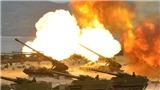 Xem 300 khẩu pháo Triều Tiên khạc lửa trong tập trận lớn nhất lịch sử