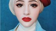 'Hotgirl Hồi giáo' có khuôn mặt đẹp như thiên thần gây 'bão mạng'