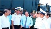 Thủ tướng kiểm tra công tác huấn luyện sẵn sàng chiến đấu tại Lữ đoàn Tên lửa bờ