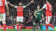 Arsenal 5-0 Lincoln: Đè bẹp đội nghiệp dư, Wenger vẫn cay cú trọng tài trận thua Bayern