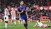 Stoke 1–2 Chelsea: Cahill lập công sửa sai, đưa Chelsea tới ngôi vương gần hơn