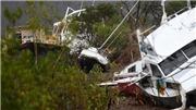 Hình ảnh bang Queensland - Australia tan hoang sau siêu bão Debbie