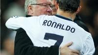 Golfer hàng đầu thế giới cảm ơn Sir Alex vì đã bán Ronaldo cho Real Madrid
