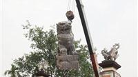 Di tích đầu tiên thay sư tử Trung Quốc bằng nghê Việt