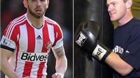 Nhà cái tài trợ 50 ngàn bảng để Rooney đấm bốc với Phil Bardsley