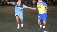 Vòng 4 giải bóng đá Vinh League tranh Cúp Chương Dương 2015: FC Văn Minh 'đè bẹp' FC Free Thành Cổ