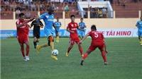 Hạ B.Bình Dương 1-0, S.Khánh Hòa bất bại 11 trận
