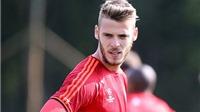 Man United - Liverpool: De Gea trở lại, Martial dự bị, Fellaini đá cắm thay Rooney