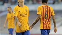 Celta Vigo 4-1 Barcelona: Messi im tiếng, Barca THUA SỐC, bị Real soán ngôi đầu