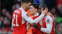 Arsenal 3-1 Sunderland: Không Oezil, 'Pháo thủ' vẫn giành chiến thắng