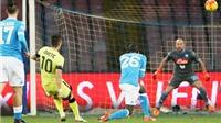 Napoli 0-2 Inter Milan: Jovetic tỏa sáng, Inter phá dớp tại San Paolo