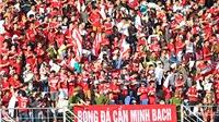 CĐV Hải Phòng, Thanh Hóa hợp sức 'đại náo' sân Hàng Đẫy