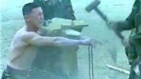 Choáng với màn võ thuật tuyệt kỹ của binh sĩ Triều Tiên dưới sự chứng kiến của ông Kim Jong-un
