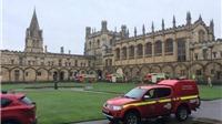 Đại sảnh đường Hogwarts trong phim Harry Potter ở Đại học Oxford bốc cháy!