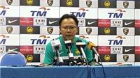 HLV Datuk Ong Kim Swee: 'Tôi và tuyển Malaysia đều thất bại ở AFF Cup'