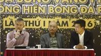 Ca sỹ Tuấn Hưng có cơ hội giành giải Cống hiến phủi 2016