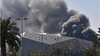 Siêu nhà hát 700 triệu USD bốc cháy ngùn ngụt