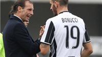 Allegri 'trảm' Bonucci: Khi Juve sẵn sàng chấp Porto một thủ lĩnh