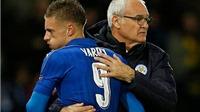 Jamie Vardy và gia đình bị dọa giết vì Leicester sa thải Ranieri