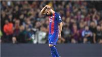 Luis Enrique đang phí phạm Jordi Alba khi cho Barca đá 3 hậu vệ