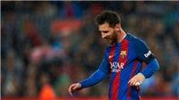Tại sao Messi ăn mừng kiểu 'lau nước mắt' ở trận thắng Sevilla?