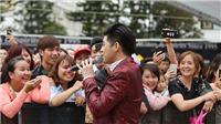 Noo Phước Thịnh 'hết mình' trước giờ đi Malaysia biểu diễn cùng 'trò cưng'