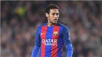 Neymar bị treo giò 3 trận, mùa giải của Barca coi như vứt đi