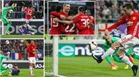 ĐIỂM NHẤN Anderlecht 1-1 Man United: Mkhitaryan vẫn bén duyên. Hàng công Man United siêu tệ