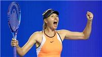 Maria Sharapova: 'Chẳng ai có thể phạt tôi nữa'