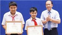 2 học sinh dũng cảm bắt trộm được Bộ trưởng tặng bằng khen
