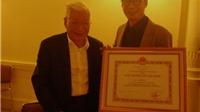 Đạo diễn Trần Lực: Ông nội được Giải thưởng Hồ Chí Minh, Trần Bờm là mừng nhất