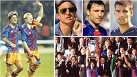 Johan Cruyff mãi mãi là những hoài niệm của Barcelona