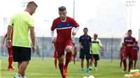 U20 Việt Nam sẵn sàng sang Đức tập huấn, SLNA tính thay ngoại binh