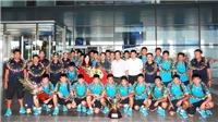 HLV trưởng U15 Việt Nam tiết lộ bí quyết đánh bại Thái Lan
