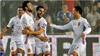 Video clip highlights bàn thắng trận Israel 0-1 Tây Ban Nha
