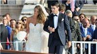 Kệ Man United sốt ruột, Morata chìm trong hạnh phúc tại đám cưới lãng mạn tại Venice