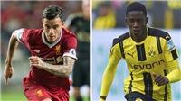 NÓNG: Barca chốt xong 2 'bom tấn' với Coutinho và Dembele ngay tuần này