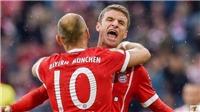 Video clip highlights bàn thắng trận Bayern Munich 4-0 Mainz