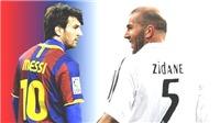 Ngày người Barca giận dữ vì cú đá thô bạo của Zidane với Messi