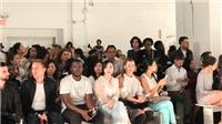 Doanh nhân Lưu Nga cùng Paris Hilton xem thời trang tại New York