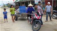 Hình ảnh hàng nghìn hộ dân Hà Tĩnh sơ tán tránh bão số 10