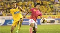 Vòng 19 V.League 2017: 'Các bác đánh nhau, khổ cho V-League'