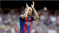Iniesta tiến thoái lưỡng nan, vẫn chưa thể quyết định rời Barcelona